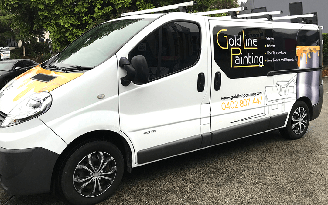 Vehicle Wrap Wraps Vinyl Car Bike Van Signage Stick It Signs Gold Coast 2020 Goldline