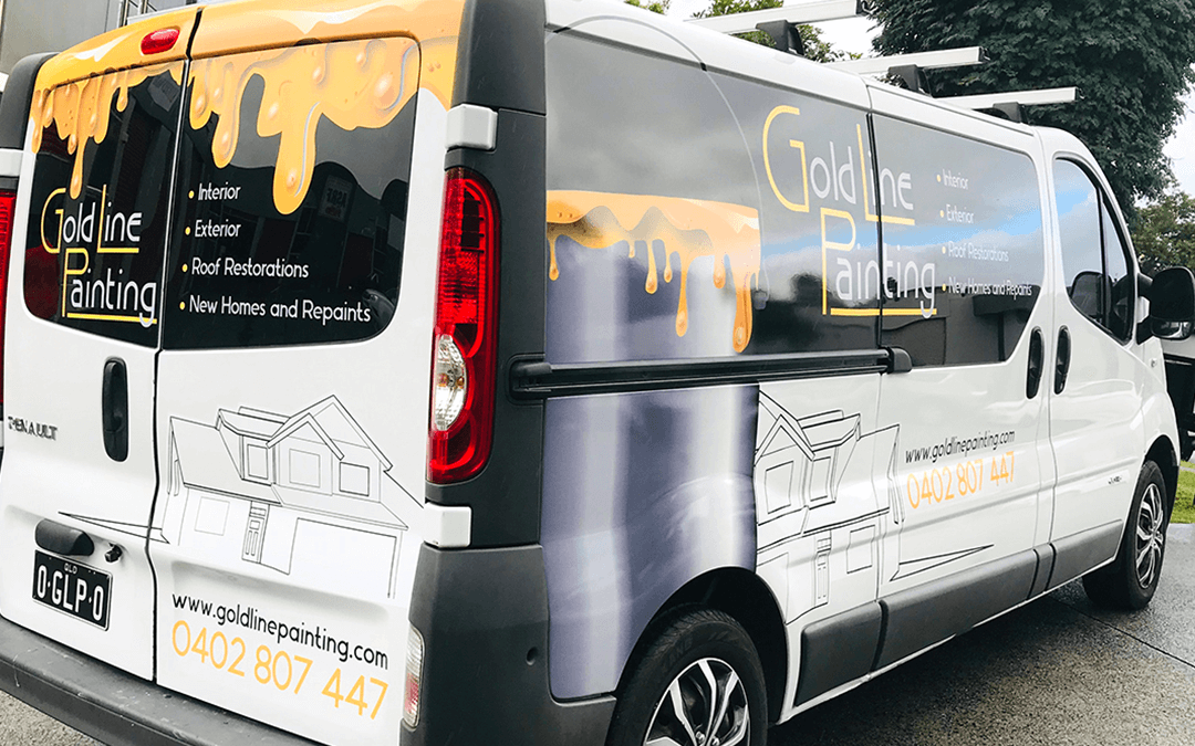 Vehicle Wrap Wraps Vinyl Car Bike Van Signage Stick It Signs Gold Coast 2020 Goldline2