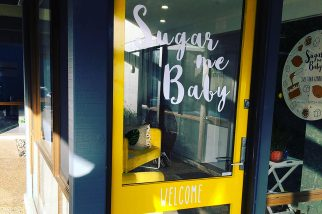 shop front - sugar me baby - stick it signs - the wrap booth - gold coast
