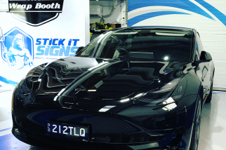 tesla-headlight-tint-stick-it-signs---the-wrap-booth---gold-coast